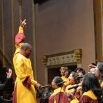 Conducting West Angeles Mass Choir
