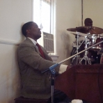 Playing Organ at Christ Centered- Home Church